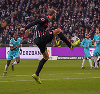 Bas Dost (Eintracht Frankfurt) - 23.11.2019: Eintracht Frankfurt vs. VfL Wolfsburg, Commerzbank Arena, 12. Spieltag<br /> DISCLAIMER: DFL regulations prohibit any use of photographs as image sequences and/or quasi-video.