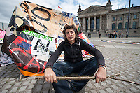 2014/06/20 Berlin | Kunstaktion zum Weltflüchtlingstag