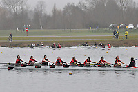 058 GtMarlowSch W.J14A.8x+..Marlow Regatta Committee Thames Valley Trial Head. 1900m at Dorney Lake/Eton College Rowing Centre, Dorney, Buckinghamshire. Sunday 29 January 2012. Run over three divisions.