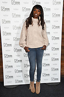 Lorraine Pascal arriving for the Natural History Museum Ice Rink launch party 2017, London, UK. <br /> 25 October  2017<br /> Picture: Steve Vas/Featureflash/SilverHub 0208 004 5359 sales@silverhubmedia.com