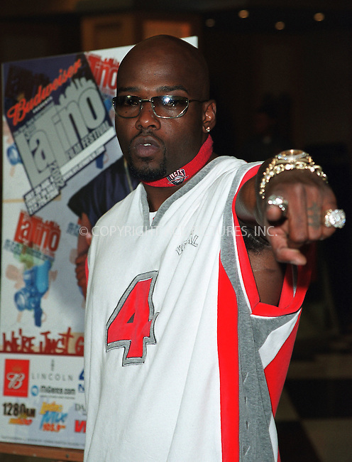"""Treach (actor/rap star) at the opening of the 3Rd Annual New York International Latino Film Festival and the premiere of """"Empire."""" New York, July 31, 2002. Please byline: Alecsey Boldeskul/NY Photo Press.   ..*PAY-PER-USE*      ....NY Photo Press:  ..phone (646) 267-6913;   ..e-mail: info@nyphotopress.com"""