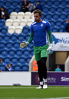 Colchester United's Sam Walker warming up<br /> <br /> Photographer Hannah Fountain/CameraSport<br /> <br /> The EFL Sky Bet League Two - Colchester United v Mansfield Town - Saturday 7th October 2017 - Colchester Community Stadium - Colchester<br /> <br /> World Copyright &copy; 2017 CameraSport. All rights reserved. 43 Linden Ave. Countesthorpe. Leicester. England. LE8 5PG - Tel: +44 (0) 116 277 4147 - admin@camerasport.com - www.camerasport.com