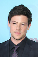 Cory Monteith at the Fox 2012 Programming Presentation Post-Show Party at Wollman Rink in Central Park on May 14, 2012 in New York City.