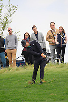 Haydn Porteous (RSA) on the 1st fairway during Round 4 of the D+D Real Czech Masters at the Albatross Golf Resort, Prague, Czech Rep. 03/09/2017<br /> Picture: Golffile   Thos Caffrey<br /> <br /> <br /> All photo usage must carry mandatory copyright credit     (&copy; Golffile   Thos Caffrey)