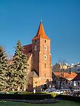 Kościół Świętego Krzyża – zabytkowy, gotycki kościół rzymskokatolicki na krakowskim Starym Mieście, we wschodniej części placu św. Ducha, między Teatrem im. Juliusza Słowackiego a ul. św. Krzyża. (wiki)