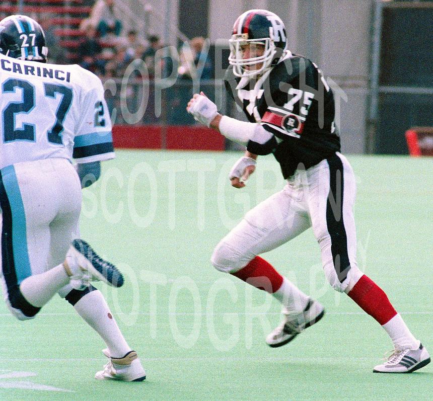Rick Sowieta Ottawa Rough Riders 1985-Photo: Scott Grant