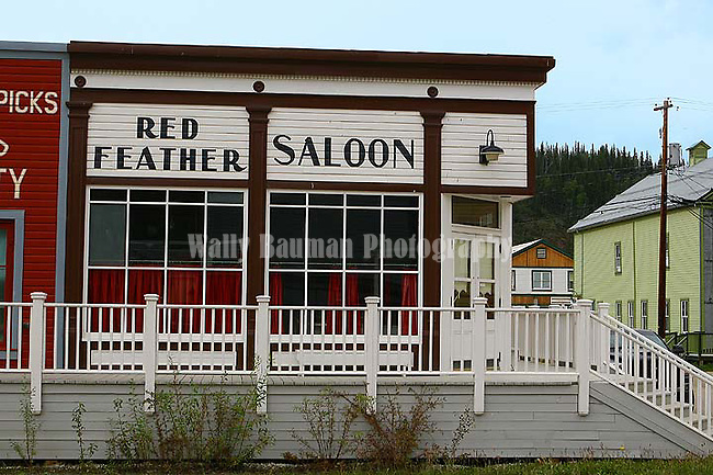 Dawson City 2010,THE YUKON TERRITORY, CANADA, Red Feather Saloon