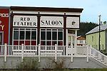 Dawson City 2010,THE YUKON TERRITORY, CANADA, Red Feather Saloon