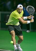 09-02-14, Netherlands,Rotterdam,Ahoy, ABNAMROWTT,  Lukasz Kubot (POL)<br /> Photo:Tennisimages/Henk Koster