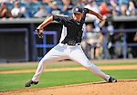 5 March 2011: New York Yankees' pitcher Robert Fish on the mound during a Spring Training game against the Washington Nationals at George M. Steinbrenner Field in Tampa, Florida. The Nationals defeated the Yankees 10-8 in Grapefruit League action. Mandatory Credit: Ed Wolfstein Photo