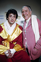 Rocky (1976) <br /> Sylvester Stallone &amp; Burgess Meredith<br /> *Filmstill - Editorial Use Only*<br /> CAP/KFS<br /> Image supplied by Capital Pictures
