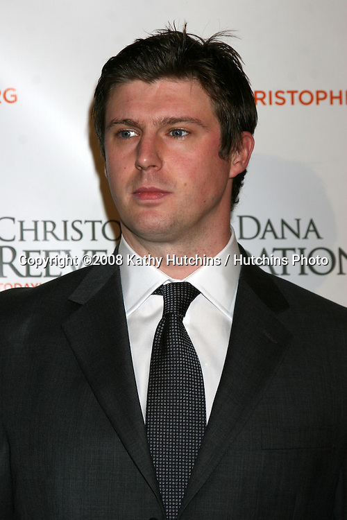 Matthew Reeve  arriving at the 4th Annual Los Angeles Gala for the Christopher & Dana Reeve Foundation, at the Beverly Hilton Hotel, in Beverly Hills, CA.December 2, 2008.©2008 Kathy Hutchins / Hutchins Photo....