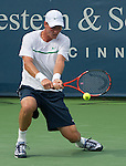 at the Western and Southern Financial Group Masters Series in Cincinnati on August 19, 2011.  Fish won, 6-3, 6-4.