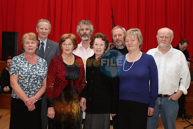 "Launch of  ""30 Years of Set Dancing in Termonfeckin"" in An Grianan...(Photo credit should read Jenny Matthews/www.newsfile.ie)....This Picture has been sent you under the conditions enclosed by:.Newsfile Ltd..The Studio,.Millmount Abbey,.Drogheda,.Co Meath..Ireland..Tel: +353(0)41-9871240.Fax: +353(0)41-9871260.GSM: +353(0)86-2500958.email: pictures@newsfile.ie.www.newsfile.ie."