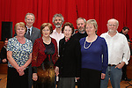 """Launch of  """"30 Years of Set Dancing in Termonfeckin"""" in An Grianan...(Photo credit should read Jenny Matthews/www.newsfile.ie)....This Picture has been sent you under the conditions enclosed by:.Newsfile Ltd..The Studio,.Millmount Abbey,.Drogheda,.Co Meath..Ireland..Tel: +353(0)41-9871240.Fax: +353(0)41-9871260.GSM: +353(0)86-2500958.email: pictures@newsfile.ie.www.newsfile.ie."""