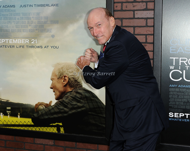 Ed Lauter at the premiere for Trouble With The Curve, at The Village Theatre in Westwood, CA. September 19, 2012