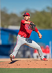 6 March 2019: Philadelphia Phillies pitcher Jose Alvarez on the mound during a Spring Training game against the Toronto Blue Jays at Dunedin Stadium in Dunedin, Florida. The Blue Jays defeated the Phillies 9-7 in Grapefruit League play. Mandatory Credit: Ed Wolfstein Photo *** RAW (NEF) Image File Available ***