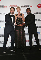 8 November 2019 - Beverly Hills, California - Seth Rogen, Charlize Theron, David Oyelowo. 33rd American Cinematheque Award Presentation Honoring Charlize Theron held at The Beverly Hilton Hotel. Photo Credit: FS/AdMedia