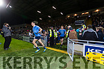 Kerry in action against  Dublin in the National League in Austin Stack park on Saturday night.