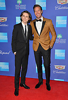 Timothee Chalamet &amp; Armie Hammer at the 2018 Palm Springs Film Festival Awards at Palm Springs Convention Center, USA 02 Jan. 2018<br /> Picture: Paul Smith/Featureflash/SilverHub 0208 004 5359 sales@silverhubmedia.com