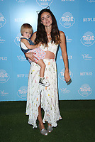 LOS ANGELES, CA - AUGUST 10: Caroline D'Amore and daughter Isabella at the Netflix Series Premiere Of True And The Rainbow Kingdom at the Pacific Theatres at The Grove in Los Angeles, California on August 10, 2017. <br /> CAP/MPI/FS<br /> &copy;FS/MPI/Capital Pictures