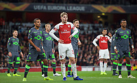 Emile Smith-Rowe of Arsenal during the UEFA Europa League group match between Arsenal and Sporting Clube de Portugal at the Emirates Stadium, London, England on 8 November 2018. Photo by Andrew Aleks / PRiME Media Images.<br /> .<br /> (Photograph May Only Be Used For Newspaper And/Or Magazine Editorial Purposes. www.football-dataco.com)