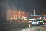 Shortly before 4.30 am Drogheda Fire service received a call to a serious house ire in the moneymore estate in Drogheda, One unit was redirected from a car fire not far from where the fire was reported and was backed up by a second fire apliance, The fire service tacklet the blase which gutted the down stairs part of the house and badly smoke damaged the up stairs. The two occupants a mother and her daughter were rescued from the house after the daughter jumped from the upstairs window into neighbours hands and the mother was taken out by the fire service. The two occupants were removed to Our lady of Lourdes Hospital in Drogheda as well as a fire service personel with smoke inhalation. A third fire Appliance from Dunleer were called into the scene..Garda sealed off the area pending techinical examination this morning..Photo: Newsfile/Fran Caffrey.