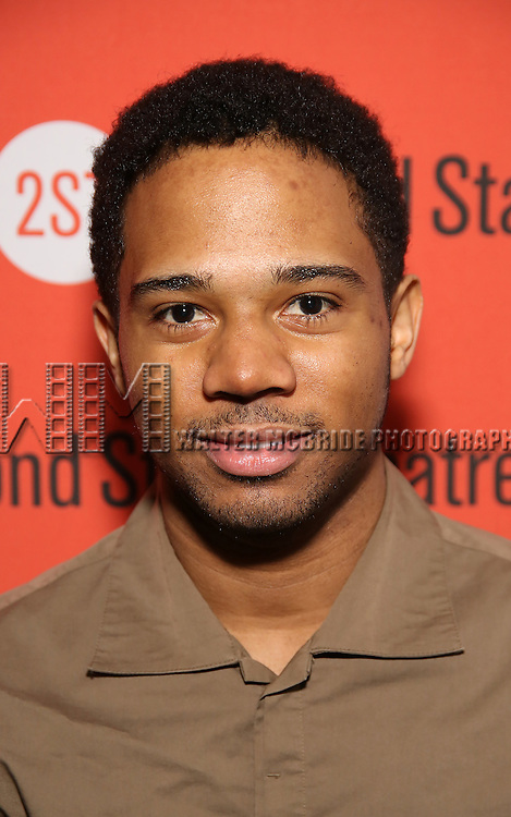 Jamar Williams attends the Off-Broadway Opening Night performance of 'Man From Nebraska' at the Second StageTheatre on February 15, 2017 in New York City.