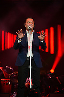 "CORAL GABLES, FL - AUGUST 27: Victor Manuelle performs during ""Caminando, Adios Y Gracias concert"" at Bank United Center on August 27, 2016 in Miami, Florida.  Credit: MPI10 / MediaPunch"