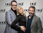 Jon Robin Baitz, Judith Light and David Cromer attends the 2019 DGF Madge Evans And Sidney Kingsley Awards at The Lambs Club on March 18, 2019 in New York City.