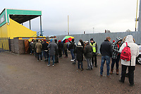 Record crowd of 1133 at Coles Park during Haringey Borough vs Leyton Orient, Buildbase FA Trophy Football at Coles Park Stadium on 16th December 2017
