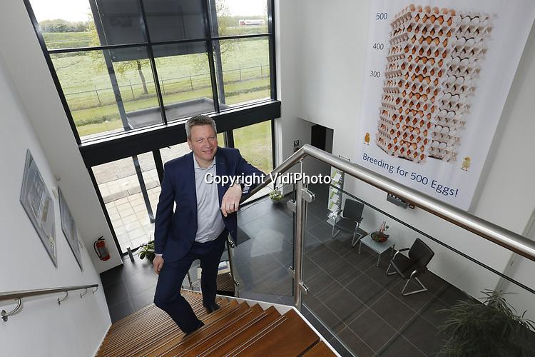 Foto: vidiPhoto<br /> <br /> BOXMEER - HR-directeur bij Hendrix Genetics in Boxmeer, Peter Pluk.