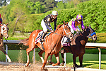 April 18, 2020: Ce Ce (14) with jockey Victor Espinoza aboard during the Apple Blossom Handicap at Oaklawn Racing Casino Resort in Hot Springs, Arkansas on April 18, 2020. Ted McClenning/Eclipse Sportswire/CSM