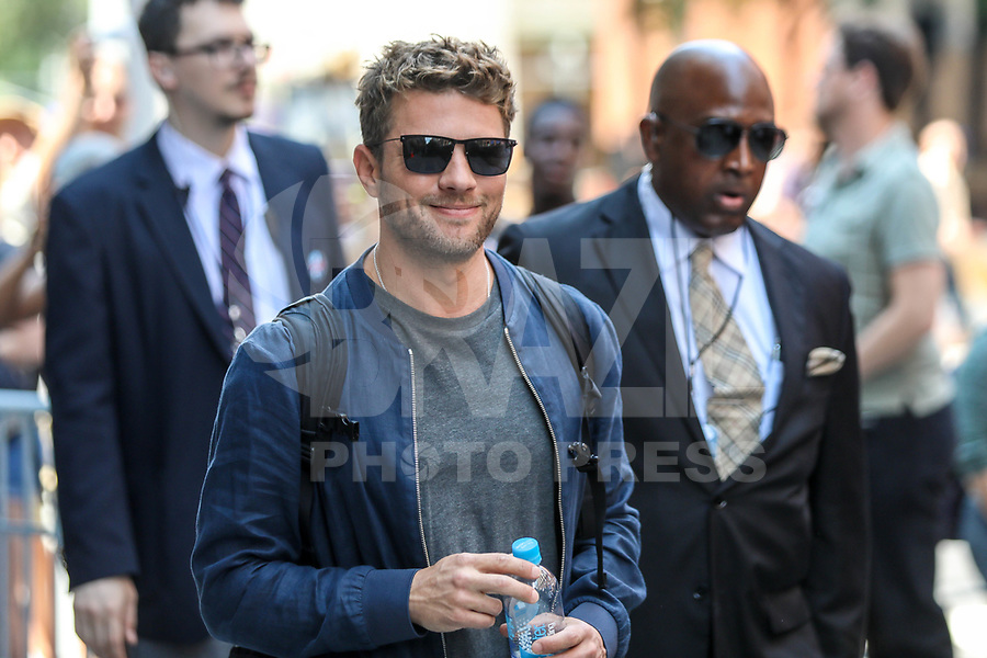 NEW YORK, EUA,  10.07.2017 - RYAN-PHILLIPPE - O ator norte-americano<br /> Ryan Phillippe é visto no bairro do Soho na cidade de New York nesta segunda-feira, 10. (Foto: William Volcov/Brazil Photo Press/Folhapress)