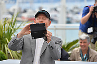 """Ron Howard at the photocall for """"Solo: A Star Wars Story"""" at the 71st Festival de Cannes, Cannes, France 15 May 2018<br /> Picture: Paul Smith/Featureflash/SilverHub 0208 004 5359 sales@silverhubmedia.com"""