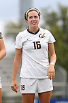 06 September 2015: California's Kelly Fitzgerald. The Duke University Blue Devils hosted the University of California Bears at Koskinen Stadium in Durham, NC in a 2015 NCAA Division I Women's Soccer match. California won the game 3-1.