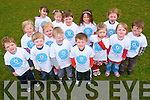Coolick Pre-school pupils who helped out with a clean-up to mark National Volunteer week.