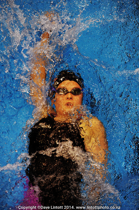 Tania Denvir competes in the 2014 New Zealand Short Course Swimming Championships at Welllington Regional Aquatics Centre, Kilbirnie, Wellington on Friday, 5 September 2014. Photo: Dave Lintott / lintottphoto.co.nz