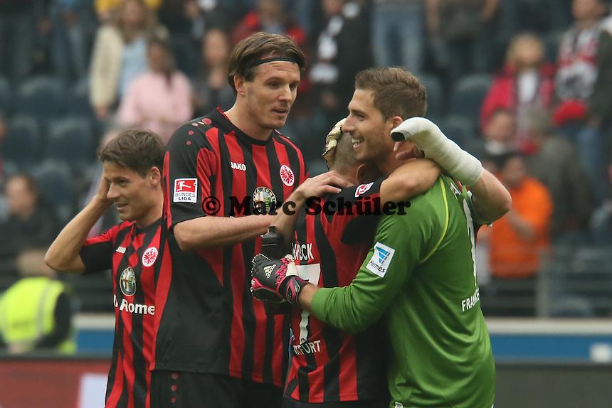 Siegesjubel Eintracht - Eintracht Frankfurt vs. 1. FSV Mainz 05
