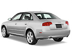Rear three quarter view of a 2005 - 2008 Audi A4 3.2 Sedan.