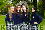 Pictured at the Presentation Secondary school, Tralee, graduation on Friday were Laura Healy,Agnieszka Urbaniak,Cliodhna Hayes and Djellza Bunjaku