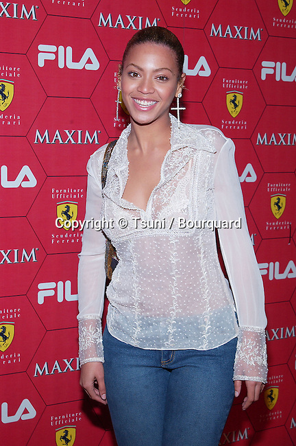 Beyonce Knowles arriving at the Seduction Of Speed an evening with the magazine Maxim at the Lounge @ Astra in Los Angeles. March 14, 2002.           -            KnowlesBeyonce02.jpg