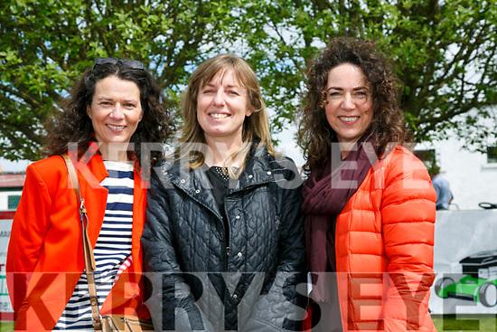 At the Kingdom County Fair in Ballybeggan on Sunday were Vanessa Casey, Noel West and Amanda Tarrant