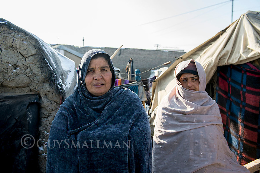 Afghan refugees at the Niandari 'Near Statium' camp for displaced people. 9-1-13