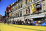 Tiesj Benoot (BEL) Lotto-Soudal team on stage at sign on before the 101st edition of the Tour of Flanders 2017 running 261km from Antwerp to Oudenaarde, Flanders, Belgium. 26th March 2017.<br /> Picture: Eoin Clarke | Cyclefile<br /> <br /> <br /> All photos usage must carry mandatory copyright credit (&copy; Cyclefile | Eoin Clarke)