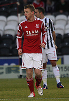 Jonny Hayes in the St Mirren v Aberdeen Clydesdale Bank Scottish Premier League match played at St Mirren Park, Paisley on 9.11.12.