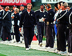 Oakland Raiders vs. Cincinnati Bengals at Oakland Alameda County Coliseum Sunday, October 25, 1998.  Raiders beat Bengals 27-10.  Raiders head coach Jon Gruden.
