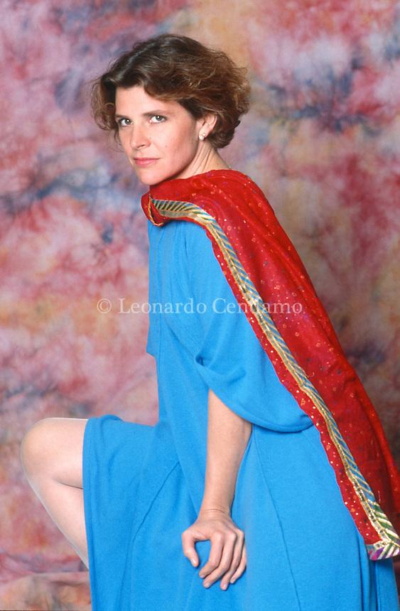Maria Pamela Villoresi, meglio nota come Pamela Villoresi, è un'attrice italiana di teatro, cinema e televisione. Roma, giugno 1995. © Leonardo Cendamo
