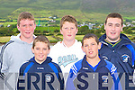 Caherciveen rowers l-r: Denis Daly, Alan O'Connor, Brian Coffey, Keith Curran and Aidan O'Connor who raced at the Caherciveen regatta on Sunday    Copyright Kerry's Eye 2008