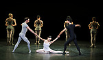 English National Ballet. Song of the Earth.<br /> Tamara Rojo;<br /> Joseph Caley;<br /> Fernando Carratal&aacute; Coloma;